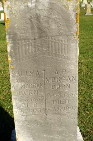 MORGAN, SALLY A - Greene County, Arkansas | SALLY A MORGAN - Arkansas Gravestone Photos