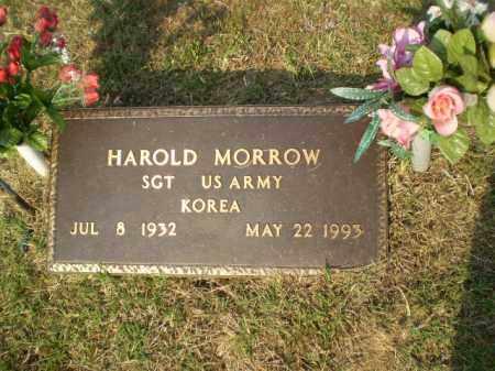 MORROW  (VETERAN KOR), HAROLD - Greene County, Arkansas | HAROLD MORROW  (VETERAN KOR) - Arkansas Gravestone Photos