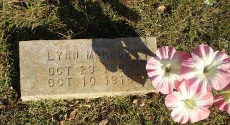 MORROW, LYNN - Greene County, Arkansas   LYNN MORROW - Arkansas Gravestone Photos