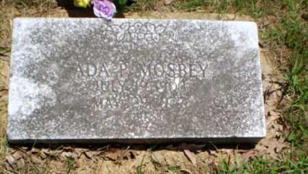 MOSBEY, ADA P - Greene County, Arkansas | ADA P MOSBEY - Arkansas Gravestone Photos