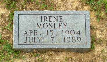 MOSLEY, IRENE - Greene County, Arkansas | IRENE MOSLEY - Arkansas Gravestone Photos