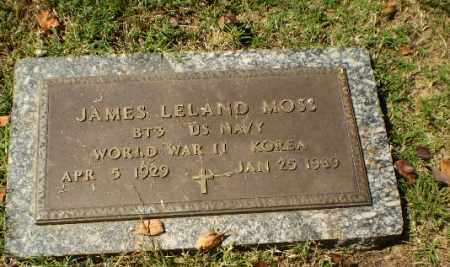 MOSS (VETERAN 2 WARS), JAMES LELAND - Greene County, Arkansas | JAMES LELAND MOSS (VETERAN 2 WARS) - Arkansas Gravestone Photos