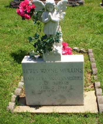 MULLINS, LEWIS WAYNE - Greene County, Arkansas   LEWIS WAYNE MULLINS - Arkansas Gravestone Photos