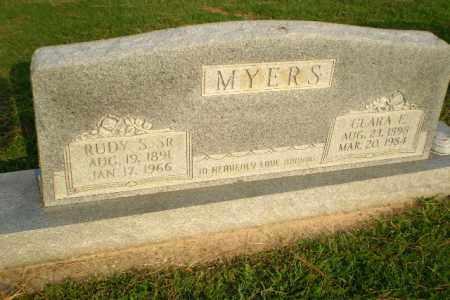 MYERS, SR (VETERAN WWI), RUDY S - Greene County, Arkansas | RUDY S MYERS, SR (VETERAN WWI) - Arkansas Gravestone Photos