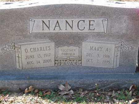 NANCE, O. CHARLES - Greene County, Arkansas   O. CHARLES NANCE - Arkansas Gravestone Photos