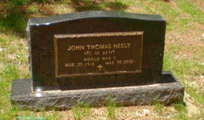 NEELY  (VETERAN WWII), JOHN THOMAS - Greene County, Arkansas | JOHN THOMAS NEELY  (VETERAN WWII) - Arkansas Gravestone Photos