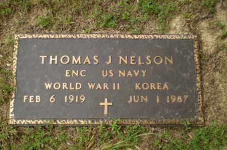 NELSON  (VETERAN 2 WARS), THOMAS J - Greene County, Arkansas   THOMAS J NELSON  (VETERAN 2 WARS) - Arkansas Gravestone Photos