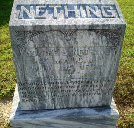 MALCHON NETHING, LOUISE J - Greene County, Arkansas | LOUISE J MALCHON NETHING - Arkansas Gravestone Photos