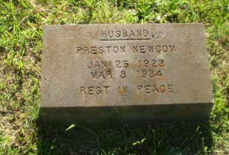 NEWCOM, PRESTON - Greene County, Arkansas | PRESTON NEWCOM - Arkansas Gravestone Photos