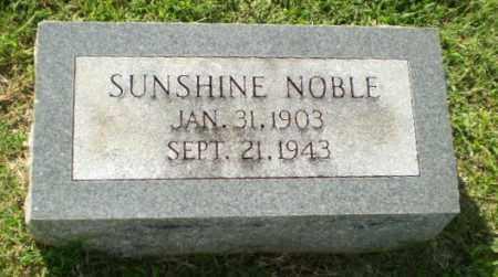 NOBLE, SUNSHINE - Greene County, Arkansas   SUNSHINE NOBLE - Arkansas Gravestone Photos