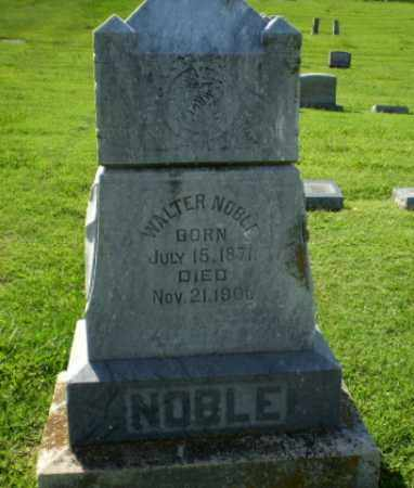 NOBLE, WALTER - Greene County, Arkansas | WALTER NOBLE - Arkansas Gravestone Photos