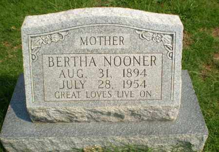 NOONER, BERTHA - Greene County, Arkansas | BERTHA NOONER - Arkansas Gravestone Photos