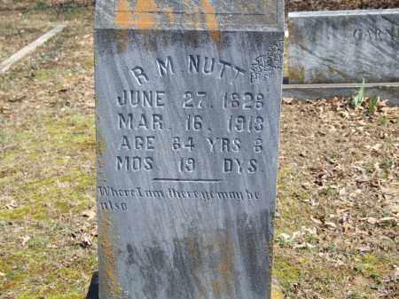 NUTT, R. M. - Greene County, Arkansas   R. M. NUTT - Arkansas Gravestone Photos