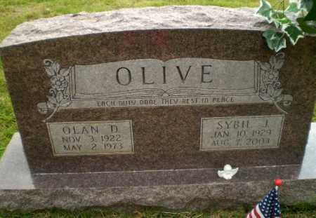 HEATHERLY OLIVE, SYBIL J - Greene County, Arkansas | SYBIL J HEATHERLY OLIVE - Arkansas Gravestone Photos