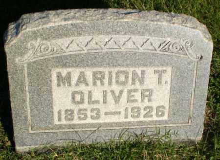 OLIVER, MARION T - Greene County, Arkansas | MARION T OLIVER - Arkansas Gravestone Photos