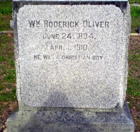 OLIVER, WILLIAM RODERICK - Greene County, Arkansas | WILLIAM RODERICK OLIVER - Arkansas Gravestone Photos