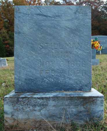 ORICK, STILLMAN - Greene County, Arkansas | STILLMAN ORICK - Arkansas Gravestone Photos