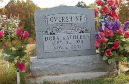OVERSHINE, DORA KATHLEEN - Greene County, Arkansas | DORA KATHLEEN OVERSHINE - Arkansas Gravestone Photos