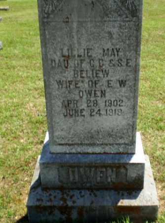 BELIEW OWEN, LILLIE MAY - Greene County, Arkansas | LILLIE MAY BELIEW OWEN - Arkansas Gravestone Photos