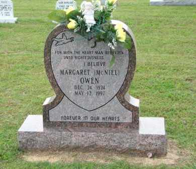 MCNIEL OWEN, MARGARET - Greene County, Arkansas | MARGARET MCNIEL OWEN - Arkansas Gravestone Photos
