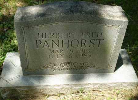 PANHORST, HERBERT FRED - Greene County, Arkansas | HERBERT FRED PANHORST - Arkansas Gravestone Photos