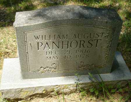 PANHORST, WILLIAM AUGUST - Greene County, Arkansas | WILLIAM AUGUST PANHORST - Arkansas Gravestone Photos