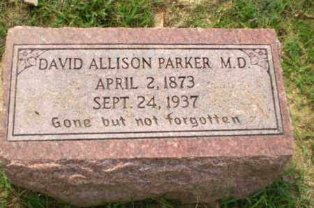 PARKER, DR, DAVID ALLISON - Greene County, Arkansas | DAVID ALLISON PARKER, DR - Arkansas Gravestone Photos
