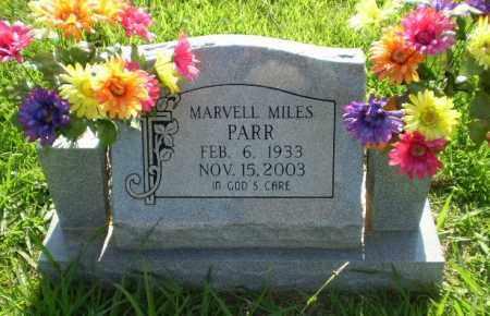 PARR, MARVELL MILES - Greene County, Arkansas   MARVELL MILES PARR - Arkansas Gravestone Photos
