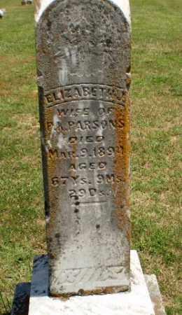 PARSONS, ELIZABETH J - Greene County, Arkansas | ELIZABETH J PARSONS - Arkansas Gravestone Photos