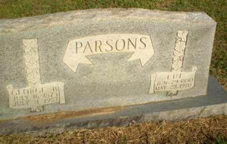 PARSONS, LUE - Greene County, Arkansas   LUE PARSONS - Arkansas Gravestone Photos