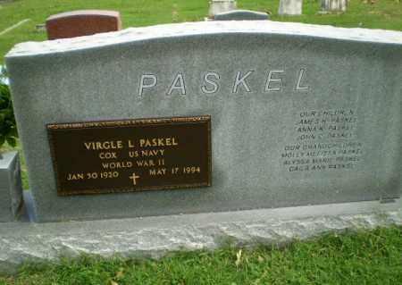 PASKEL  (VETERAN WWII), VIRGLE L - Greene County, Arkansas | VIRGLE L PASKEL  (VETERAN WWII) - Arkansas Gravestone Photos