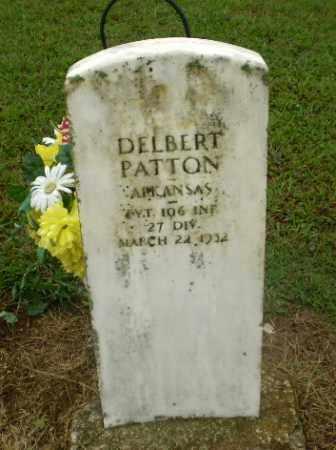 PATTON  (VETERAN), DELBERT - Greene County, Arkansas | DELBERT PATTON  (VETERAN) - Arkansas Gravestone Photos