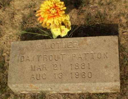 TROUT PATTON, IDA - Greene County, Arkansas | IDA TROUT PATTON - Arkansas Gravestone Photos