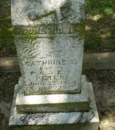 PETERS, CATHERINE - Greene County, Arkansas | CATHERINE PETERS - Arkansas Gravestone Photos