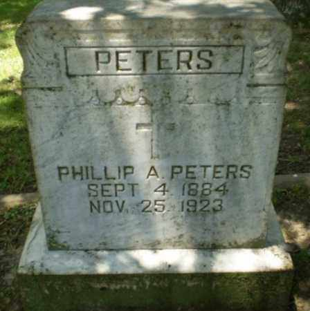 PETERS, PHILLIP A - Greene County, Arkansas | PHILLIP A PETERS - Arkansas Gravestone Photos