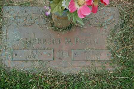 PIGUE, HERBERT M. - Greene County, Arkansas   HERBERT M. PIGUE - Arkansas Gravestone Photos