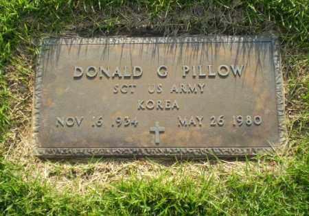 PILLOW  (VETERAN KOR), DONALD C - Greene County, Arkansas | DONALD C PILLOW  (VETERAN KOR) - Arkansas Gravestone Photos
