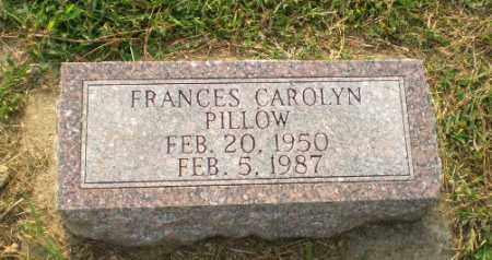 PILLOW, FRANCES CAROLYN - Greene County, Arkansas | FRANCES CAROLYN PILLOW - Arkansas Gravestone Photos
