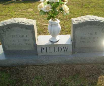 PILLOW, ELSIE E - Greene County, Arkansas | ELSIE E PILLOW - Arkansas Gravestone Photos