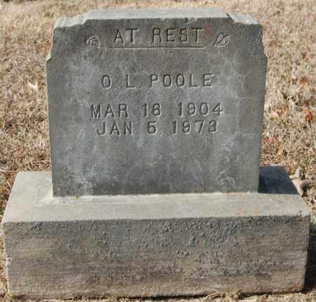 POOLE, O. L. - Greene County, Arkansas | O. L. POOLE - Arkansas Gravestone Photos