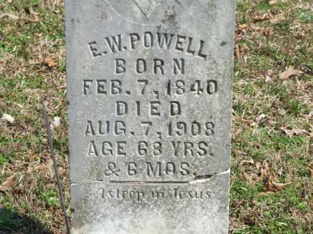 POWELL, E. W. - Greene County, Arkansas | E. W. POWELL - Arkansas Gravestone Photos