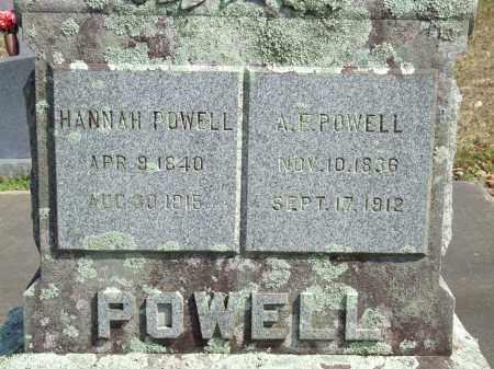 POWELL, A.F. - Greene County, Arkansas | A.F. POWELL - Arkansas Gravestone Photos