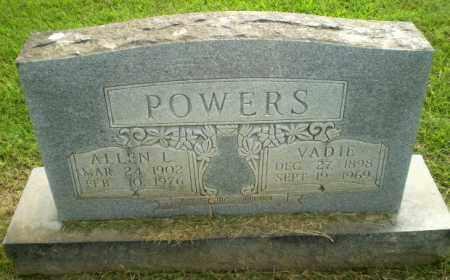 POWERS, VADIE - Greene County, Arkansas | VADIE POWERS - Arkansas Gravestone Photos