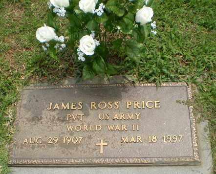 PRICE  (VETERAN WWII), JAMES ROSS - Greene County, Arkansas | JAMES ROSS PRICE  (VETERAN WWII) - Arkansas Gravestone Photos