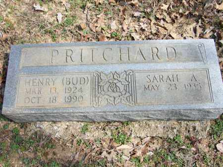 PRITCHARD, HENRY (BUD) - Greene County, Arkansas | HENRY (BUD) PRITCHARD - Arkansas Gravestone Photos