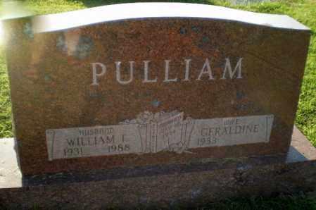 PULLIAM, WILLIAM T - Greene County, Arkansas | WILLIAM T PULLIAM - Arkansas Gravestone Photos