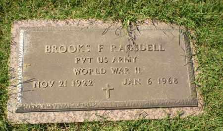 RAGSDELL (VETERAN WWII), BROOKS F - Greene County, Arkansas | BROOKS F RAGSDELL (VETERAN WWII) - Arkansas Gravestone Photos