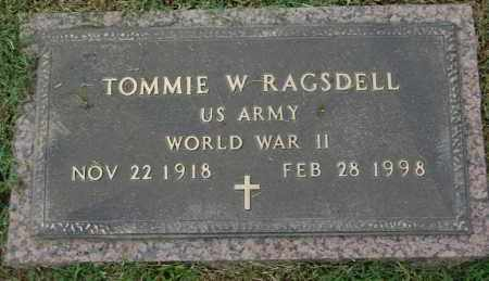 RAGSDELL (VETERAN WWII), TOMMIE W - Greene County, Arkansas   TOMMIE W RAGSDELL (VETERAN WWII) - Arkansas Gravestone Photos