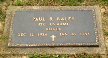 RALEY  (VETERAN KOR), PAUL R - Greene County, Arkansas | PAUL R RALEY  (VETERAN KOR) - Arkansas Gravestone Photos