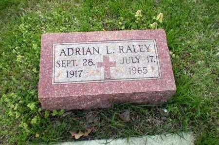 RALEY, ADRIAN L - Greene County, Arkansas | ADRIAN L RALEY - Arkansas Gravestone Photos